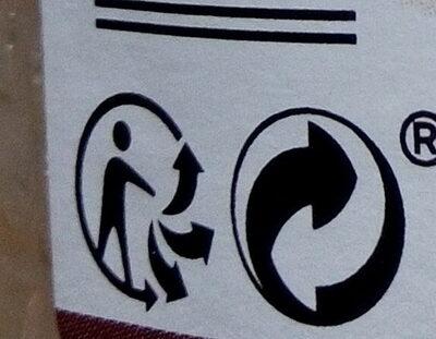 Miel de fleurs crémeux de France - Recycling instructions and/or packaging information - fr