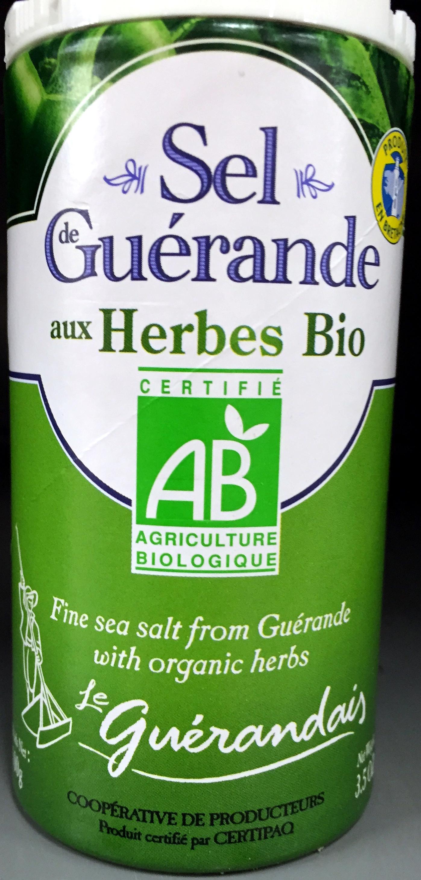 Sel de Guérande aux herbes bio - Product
