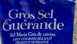 Gros sel de Guérande - Ingrédients - fr