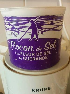 Flocon de sel à la fleur de Guérande - Produit - fr