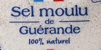 Sel de Guerande - Ingrédients - fr