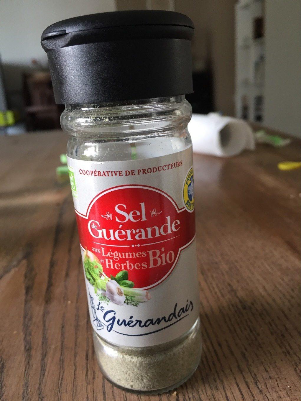 Sel moulu de Guérande aux légumes et herbes bio - Produit - fr