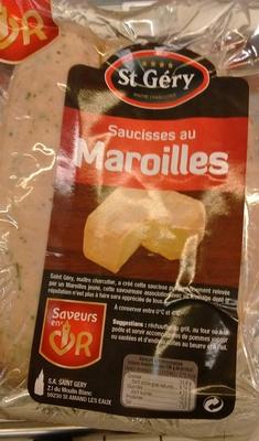 Saucisses au Maroille - Product - fr