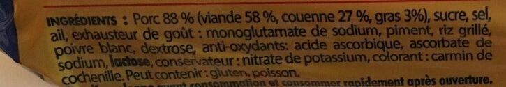 Nem Chua Vietnamienne - Ingredienti - fr
