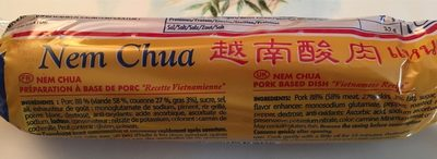 Nem Chua Vietnamienne - Valori nutrizionali - fr