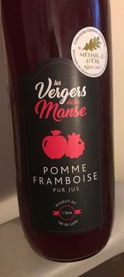 Pomme framboise pur jus - Product