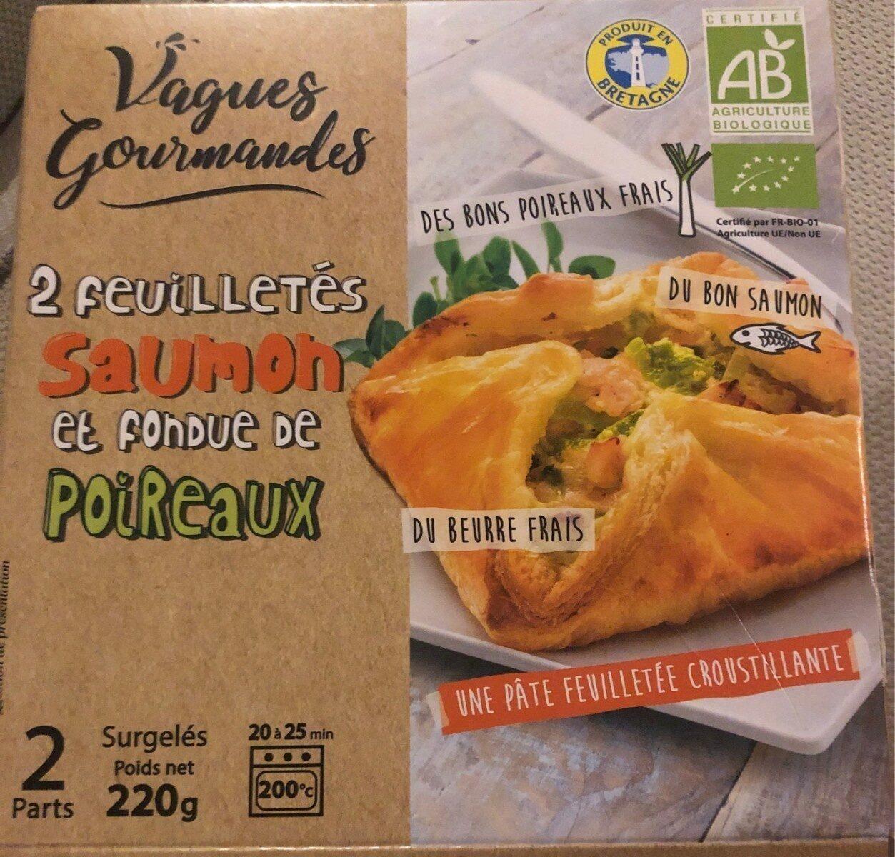 Feuilletes saumon et fondue de poireaux - Produit - fr