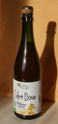 Cidre doux pur jus pommes de Savoie - Product