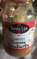 Compote pomme rhubarbe - Produit - fr