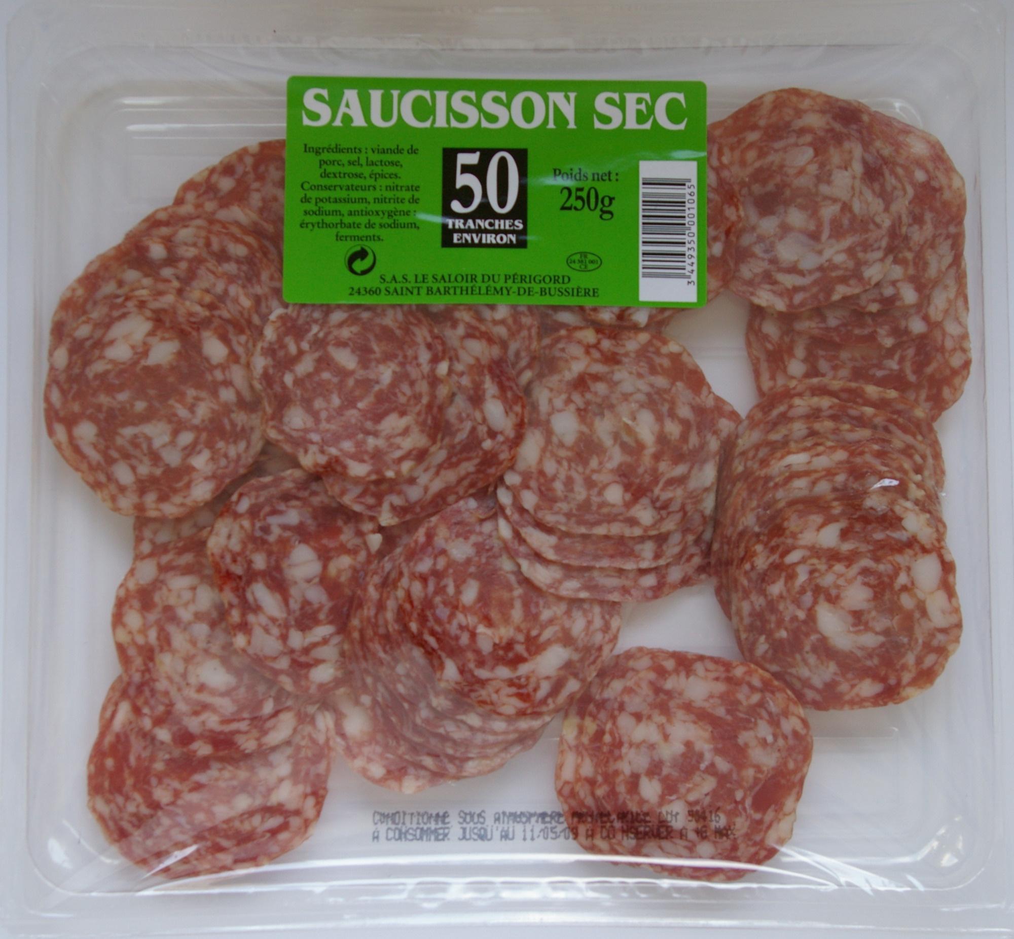 Saucisson sec - Produit - fr