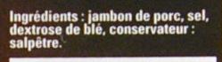 Jambon de pays - Ingrédients - fr