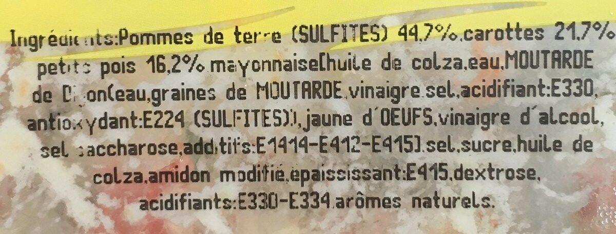 Jardinière de legumes mayonnaise - Ingredients - fr