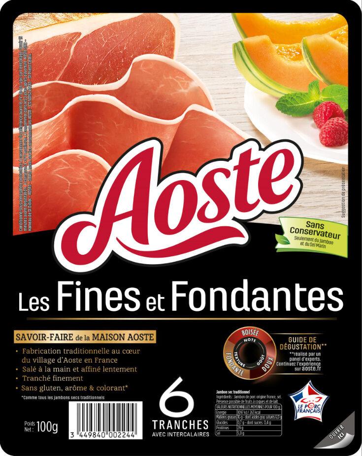 Les Fines et Fondantes - Produit - fr