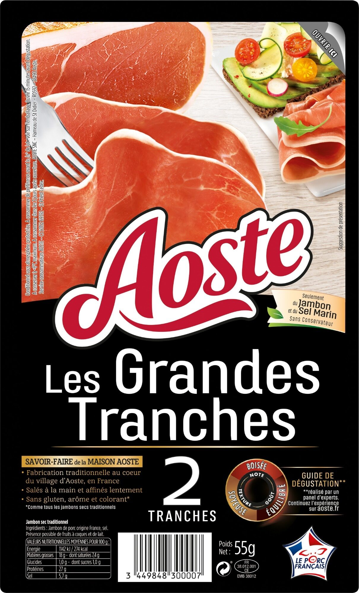 Les Grandes Tranches - Product - fr