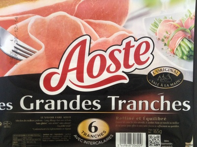 Jambon cru Grandes tranches - Produit