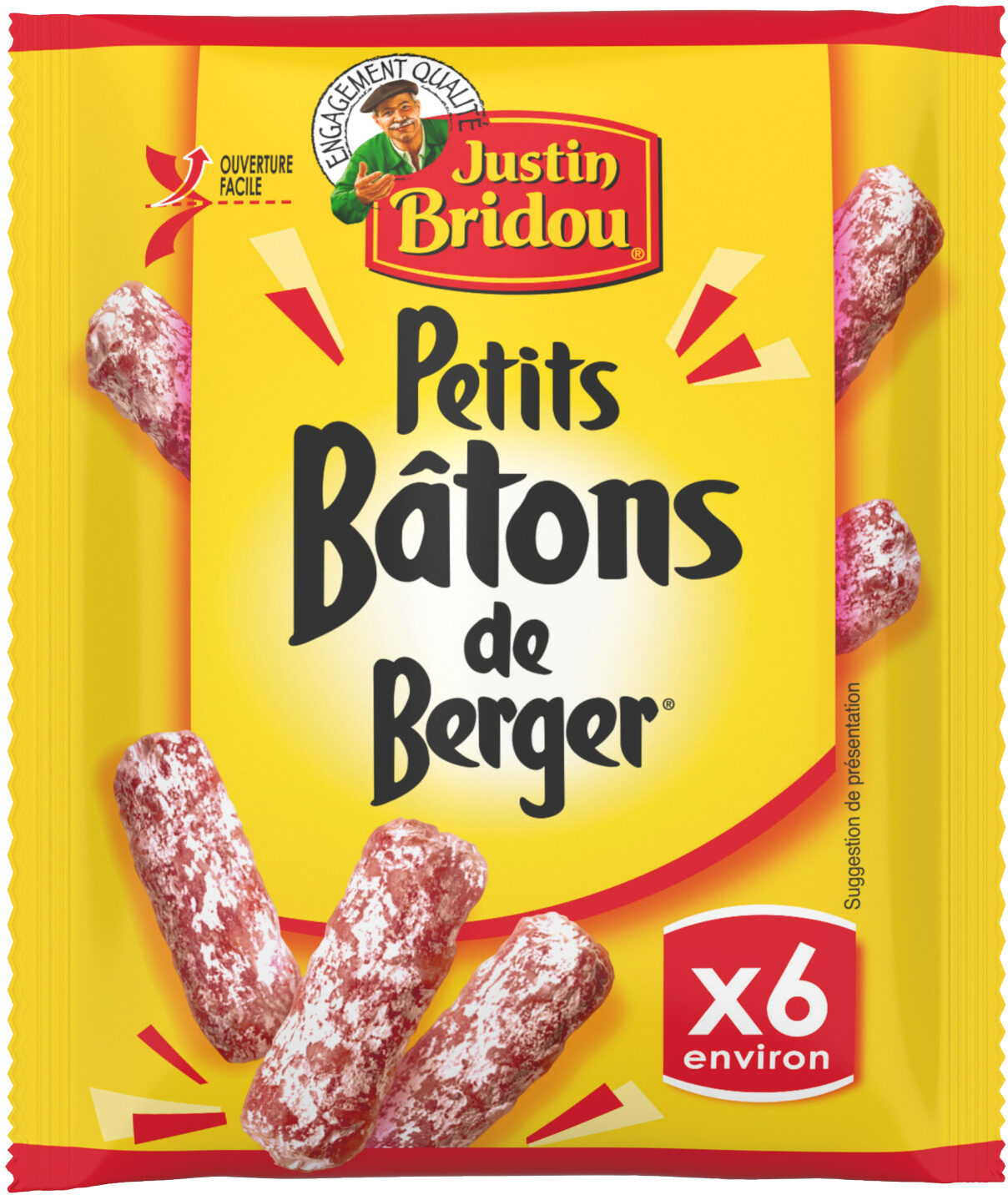Petits Bâtons de Berger (x 7 environ) - Produit - fr