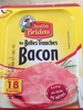 Les belles tranches Bacon - Product