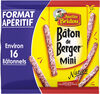 Justin Bridou Saucisson sec Petits Bâtons de Berger nature le paquet de 160 gr - Produit