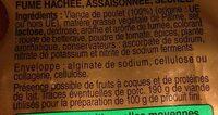 Bâton de berger - Ingredients - fr