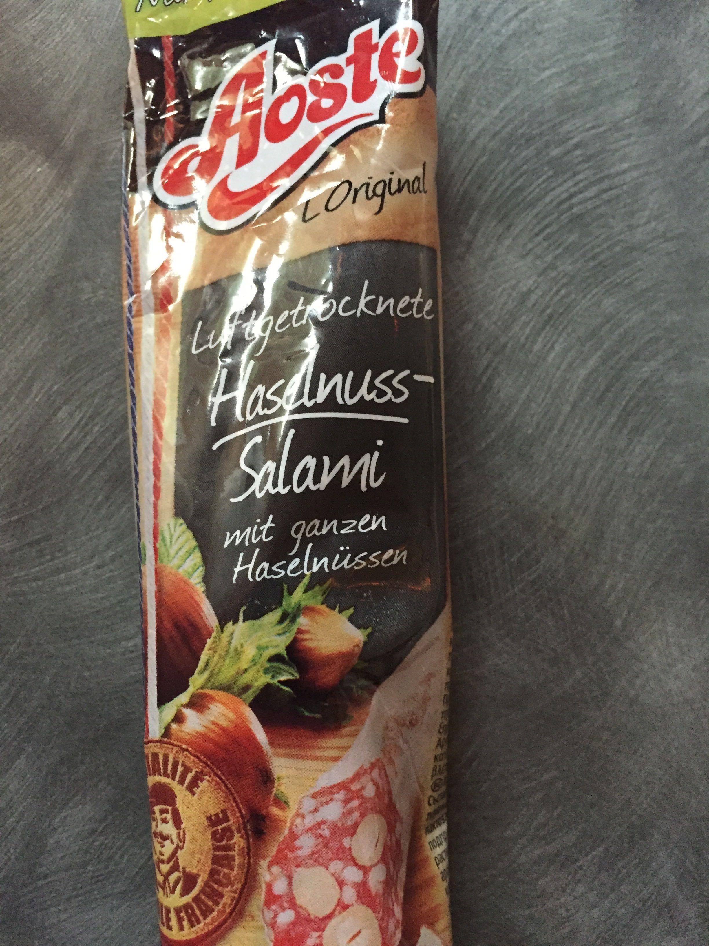 Haselnuss salami - Product