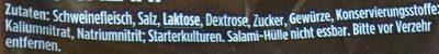 Ring-Salami - Ingredients - de