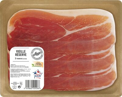 90G Jambon Cru 3 Tranches Aoste - Product - fr