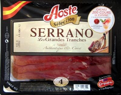 Serrano - Les Grandes Tranches - Produit