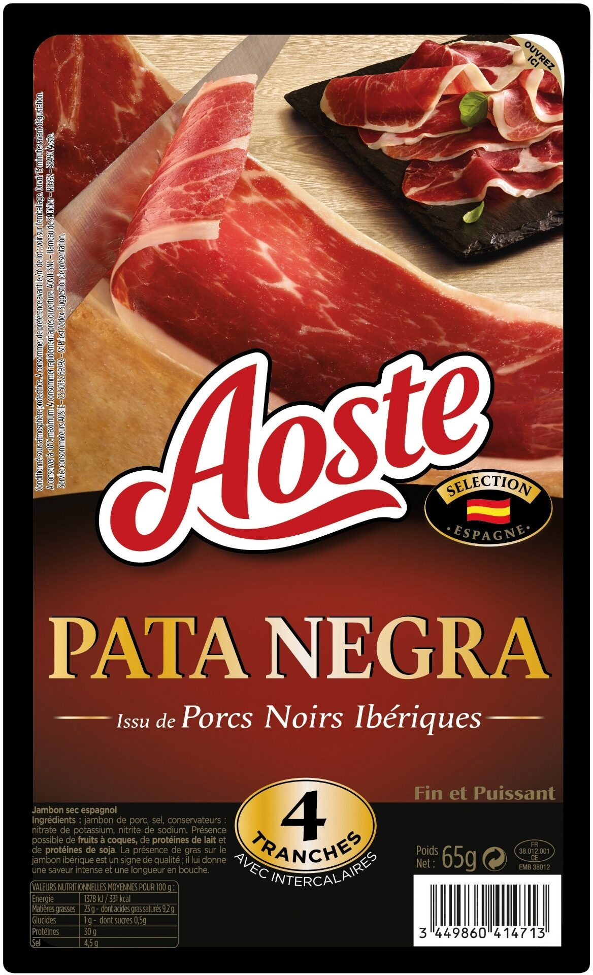 Pata Negra - Aoste - Produit - fr