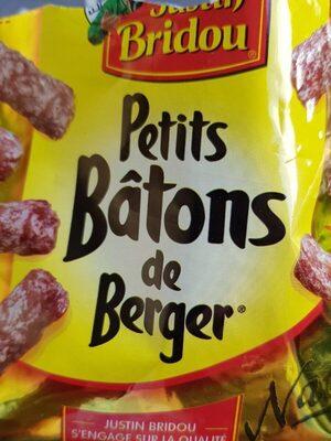 Saucisson Petits Bâton De Berger Nature 100g - Voedingswaarden - fr