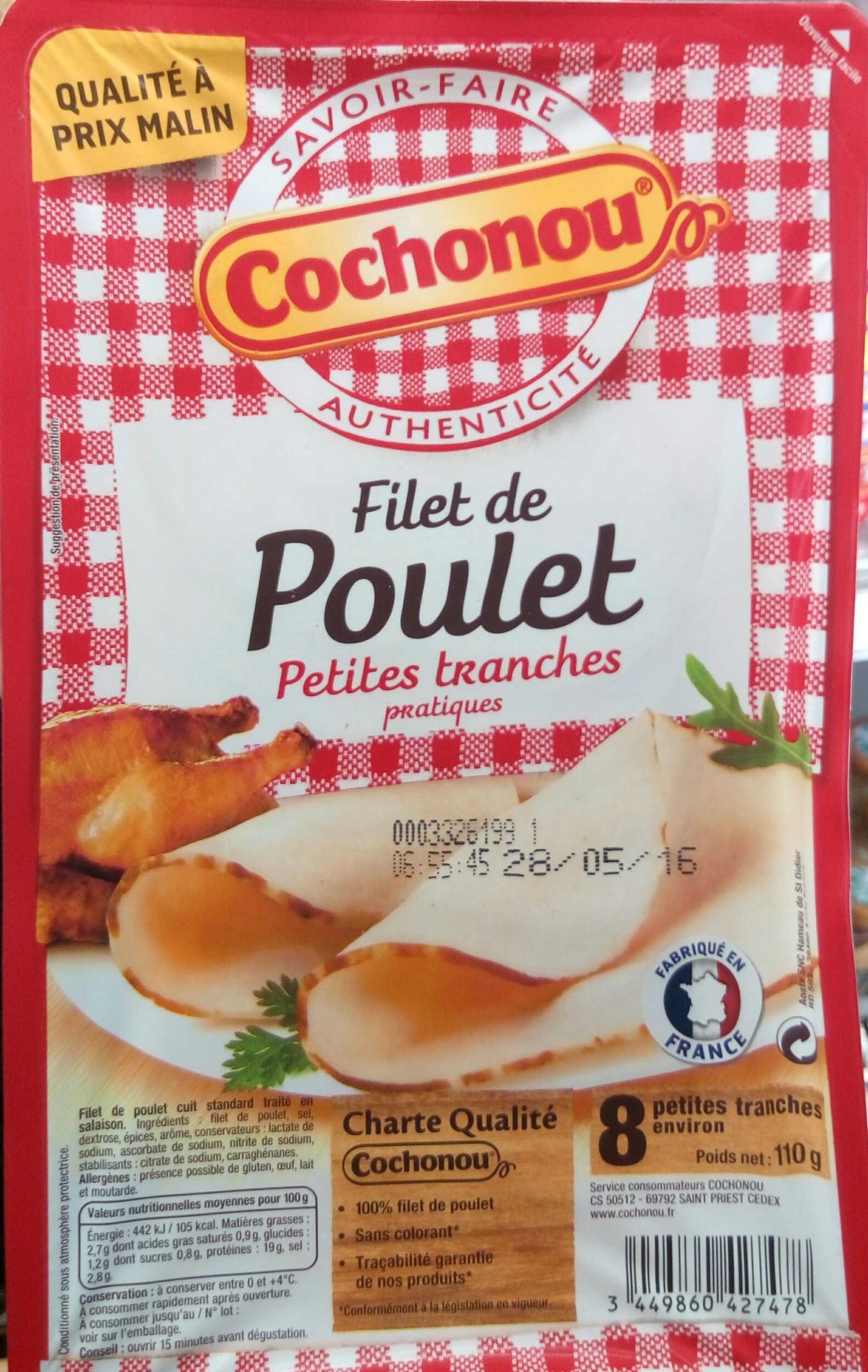 Filet de Poulet petites tranches pratiques - Produit