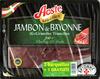 jambon de Bayonne les grandes tranches lot de 2 barquettes + 1 gratuite de 4 tranches - Product