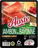 Les fines et fondantes Jambon de Bayonne - Produit