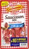 Saucisson sec réduit en sel, tranches fines - Product
