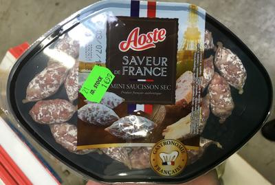 Saveur de France Mini saucisson sec - Produit - fr