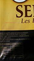 Serrano - Ingredientes - fr
