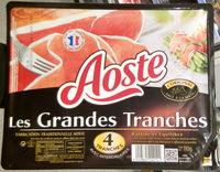 Aoste, les grandes tranches - Produit - fr