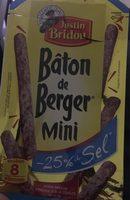 Mini bâton berger -25% de sel - Produkt - fr