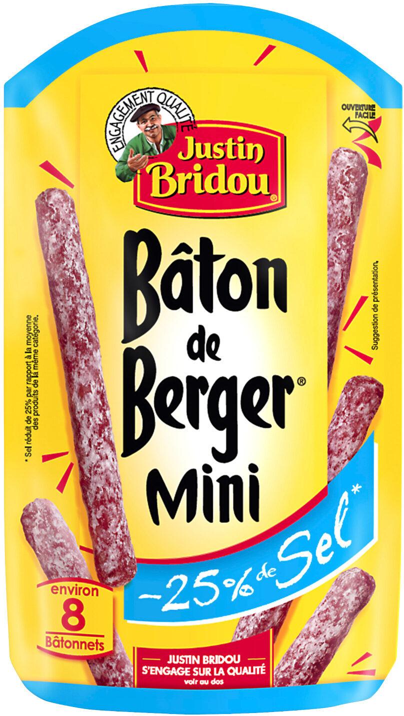 Mini bâton berger -25% de sel - Produto - fr