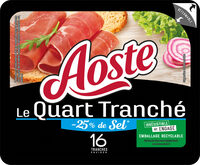 Le Quart Tranché -25% de sel - Aoste - Product - fr