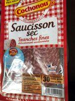 Saucisson sec -  Tranches fines - Produit - fr