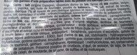 Croquetas apero - Ingrédients