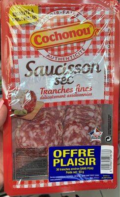 Saucisson sec tranches fines - Produit