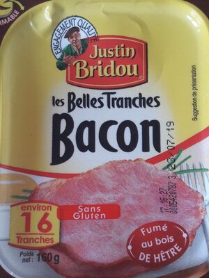 Les Belles Tranches Bacon Fumé au bois de Hêtre - Product