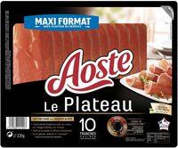 Le Plateau - 10 tranches - Aoste - Produit - fr