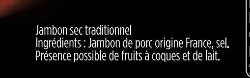 Le Plateau - 10 tranches - Aoste - Ingrédients - fr