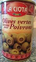 Olives vertes farcies aux poivrons - Product - fr