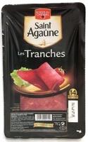 Saint Agaûne, les tranches - Produit - fr
