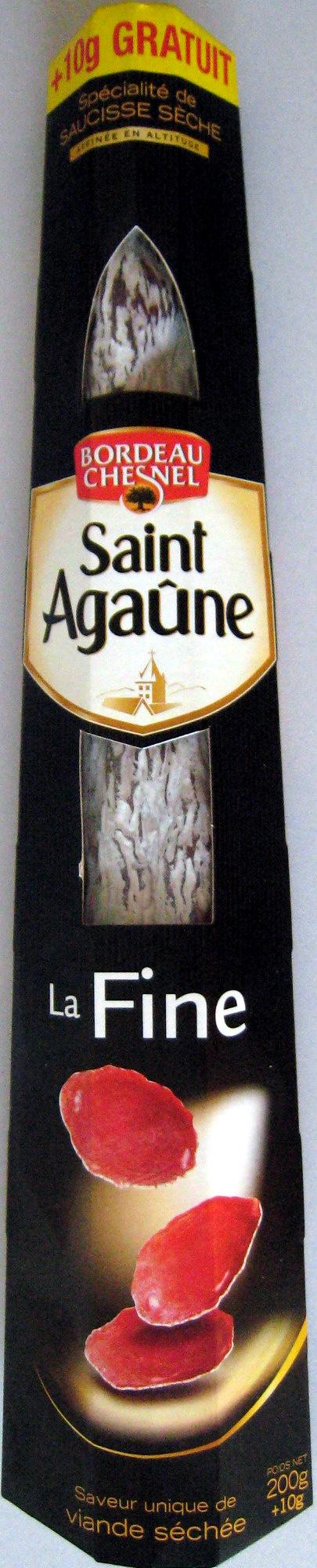 La Fine Saint Agaûne 210 g - Produit