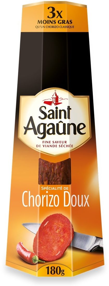 Chorizo Doux - Product - fr