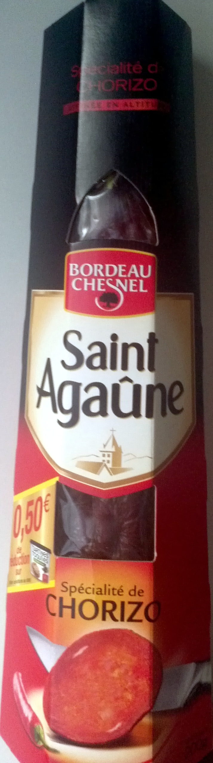 Saint Agaûne chorizo - Product - fr